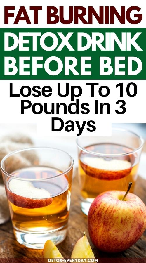 acv-detox-drink-before-bed-to-lose-weight-fast