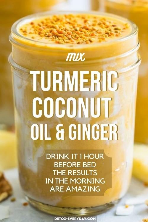 turmeric-ginger-coconut-oil-bedtime-drink-for-weight-loss